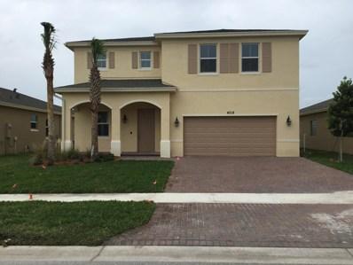 4218 Birkdale Drive, Fort Pierce, FL 34947 - MLS#: RX-10394266