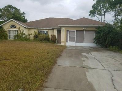 213 SW Ray Avenue, Port Saint Lucie, FL 34953 - MLS#: RX-10394309