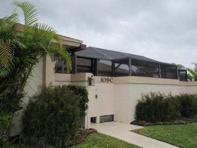 109 Bent Arrow Drive UNIT C, Jupiter, FL 33458 - MLS#: RX-10394635