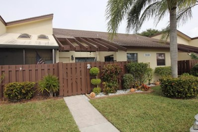 5110 Nesting Way UNIT B, Delray Beach, FL 33484 - MLS#: RX-10394652