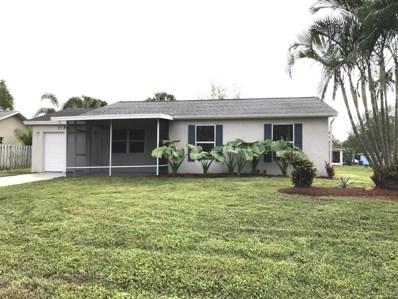 1719 SW Import Drive, Port Saint Lucie, FL 34953 - MLS#: RX-10394843