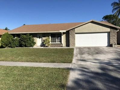 7068 Glenwood Drive, Boynton Beach, FL 33436 - MLS#: RX-10394863