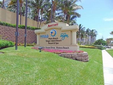 3800 N Ocean Drive UNIT 816, Riviera Beach, FL 33404 - MLS#: RX-10395616