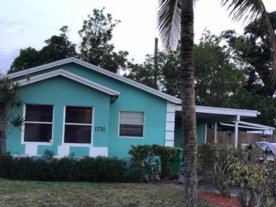 1731 W 13th Street, West Palm Beach, FL 33404 - MLS#: RX-10396452