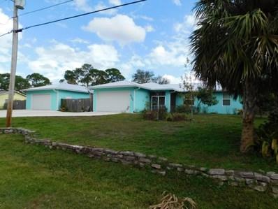 6100 Birch Drive, Fort Pierce, FL 34982 - MLS#: RX-10396466