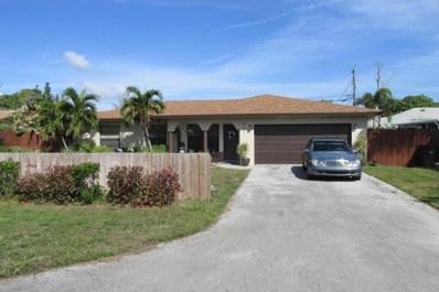 531 Jaeger Drive, Delray Beach, FL 33444 - MLS#: RX-10396808