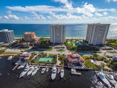 550 S Ocean Boulevard UNIT 605, Boca Raton, FL 33432 - MLS#: RX-10397187