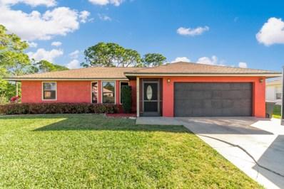 355 NW Dearman Street, Port Saint Lucie, FL 34983 - MLS#: RX-10397409