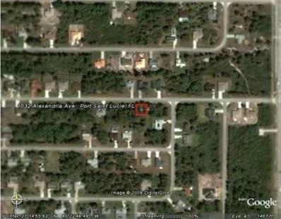 1032 SW Alexandria Avenue, Port Saint Lucie, FL 34953 - MLS#: RX-10397420