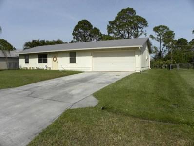 385 SW Ray Avenue, Port Saint Lucie, FL 34983 - MLS#: RX-10398064