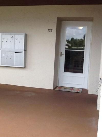 2580 Boundbrook Boulevard UNIT 105, West Palm Beach, FL 33406 - MLS#: RX-10398125