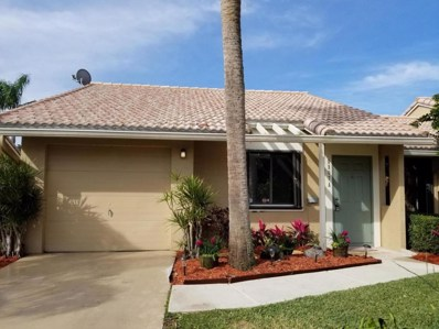 9907 62nd Terrace S UNIT A, Boynton Beach, FL 33437 - MLS#: RX-10398227