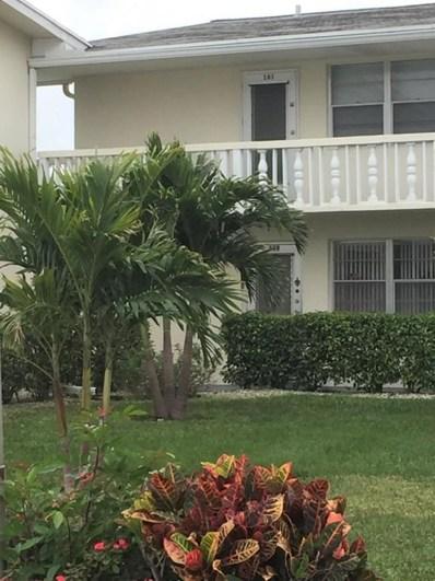 161 Dorchester G, West Palm Beach, FL 33417 - MLS#: RX-10398531