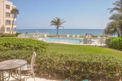 2701 S Ocean Boulevard UNIT 36, Highland Beach, FL 33487 - MLS#: RX-10398537