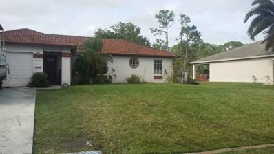 1862 SW Hickock Terrace, Port Saint Lucie, FL 34953 - MLS#: RX-10398630