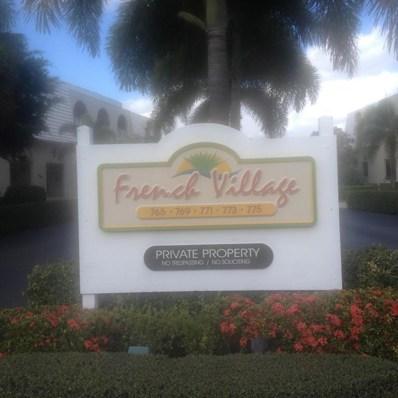 769 Jeffery Street UNIT 203  -2, Boca Raton, FL 33487 - MLS#: RX-10398925