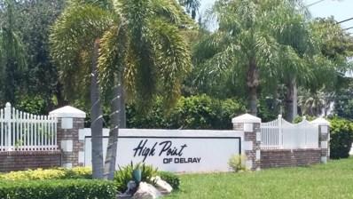 215 High Point Court E UNIT D, Delray Beach, FL 33445 - MLS#: RX-10399393