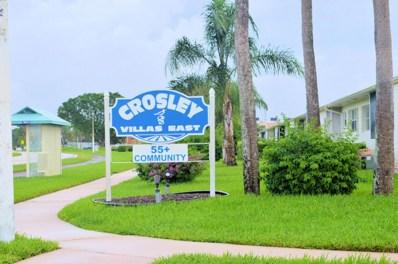 2931 Crosley Drive W UNIT D, West Palm Beach, FL 33415 - MLS#: RX-10399990