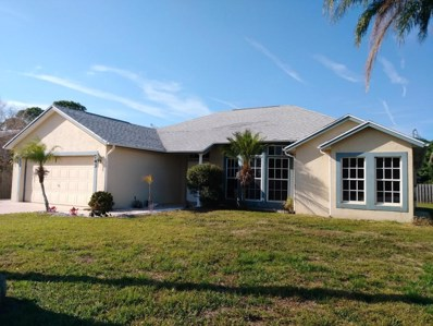 743 SW Ancona Road, Port Saint Lucie, FL 34953 - MLS#: RX-10399995