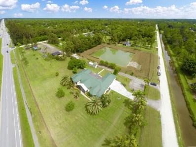 1756 Seminole Pratt Whitney, Loxahatchee, FL 33470 - MLS#: RX-10400035