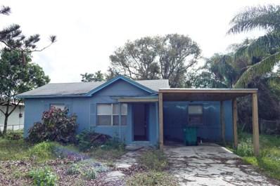 3505 Avenue R, Fort Pierce, FL 34947 - MLS#: RX-10400063