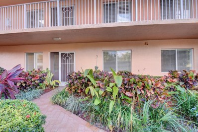 5810 Crystal Shores Drive UNIT 105, Boynton Beach, FL 33437 - MLS#: RX-10400134