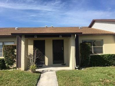 6020 Indrio Road UNIT 6, Fort Pierce, FL 34951 - MLS#: RX-10400169
