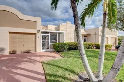 9161 Fairbanks Lane UNIT 3, Boca Raton, FL 33496 - MLS#: RX-10400497