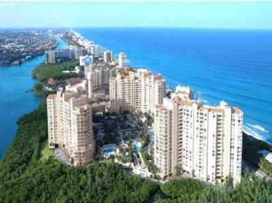 3720 S Ocean Boulevard UNIT 1110, Highland Beach, FL 33487 - MLS#: RX-10400945
