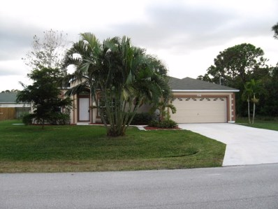 5516 NW Downs Street, Port Saint Lucie, FL 34986 - MLS#: RX-10400993