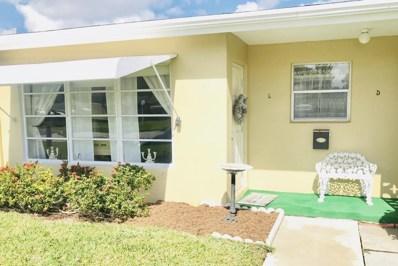 197 High Point Terrace W UNIT C, Delray Beach, FL 33445 - MLS#: RX-10401453