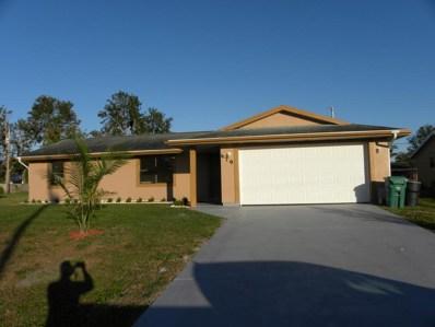 679 SW Pueblo Terrace, Port Saint Lucie, FL 34953 - MLS#: RX-10401640