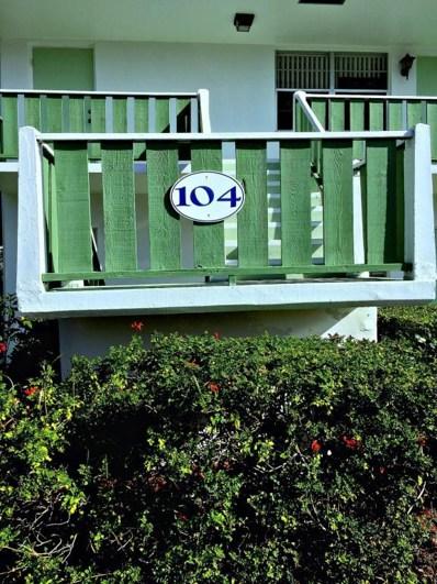 2929 SE Ocean UNIT #104-2, Stuart, FL 34996 - MLS#: RX-10401999
