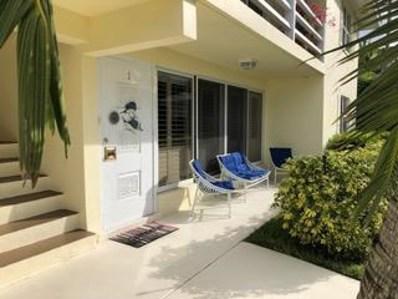 1920 S Ocean Boulevard UNIT 1, Delray Beach, FL 33483 - MLS#: RX-10402002
