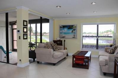8665 Boca Glades Boulevard W UNIT A, Boca Raton, FL 33434 - MLS#: RX-10402015