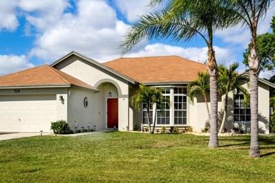 719 SE Albatross Avenue, Port Saint Lucie, FL 34983 - MLS#: RX-10402211