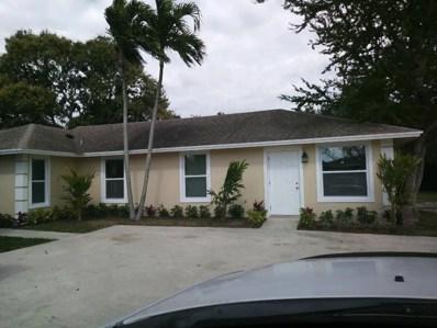 3891 A Street UNIT A, Lake Worth, FL 33461 - MLS#: RX-10402269