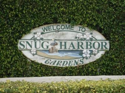 632 Snug Harbor Drive UNIT D11, Boynton Beach, FL 33435 - MLS#: RX-10402490