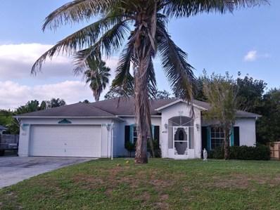487 SW Dauphin Avenue, Port Saint Lucie, FL 34953 - #: RX-10402581