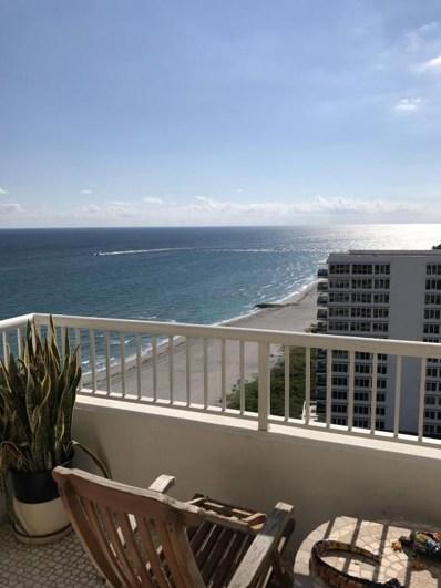 600 S Ocean Boulevard UNIT 1702, Boca Raton, FL 33432 - MLS#: RX-10402693