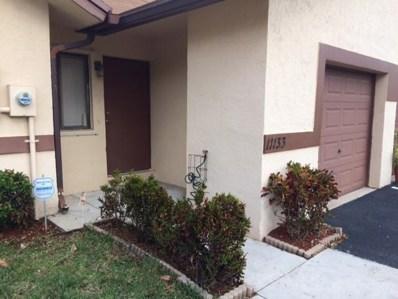 11133 NW 38th Place UNIT 11133, Sunrise, FL 33351 - MLS#: RX-10402769
