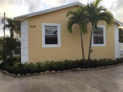959 W 5th Street, Riviera Beach, FL 33404 - MLS#: RX-10402822