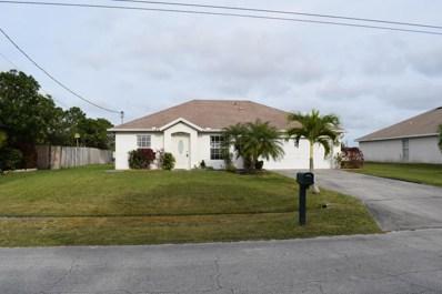 1665 SW Hampshire Lane, Port Saint Lucie, FL 34953 - MLS#: RX-10403181