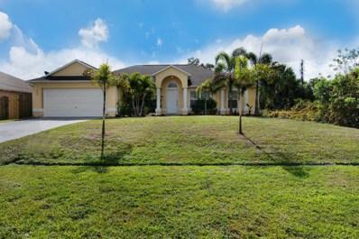 482 SW Kabot Avenue, Port Saint Lucie, FL 34953 - MLS#: RX-10403235