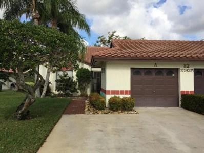 10925 Roebelini Palm Court UNIT A, Boynton Beach, FL 33437 - MLS#: RX-10403564