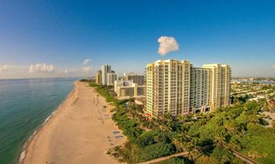 3800 N Ocean Drive UNIT 1808, Singer Island, FL 33404 - MLS#: RX-10403658