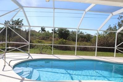 700 SW Hamberland Avenue, Port Saint Lucie, FL 34953 - MLS#: RX-10403708
