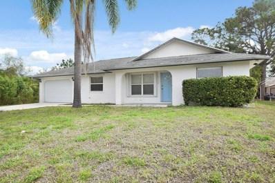 3349 SW Potts Street, Port Saint Lucie, FL 34953 - MLS#: RX-10404209