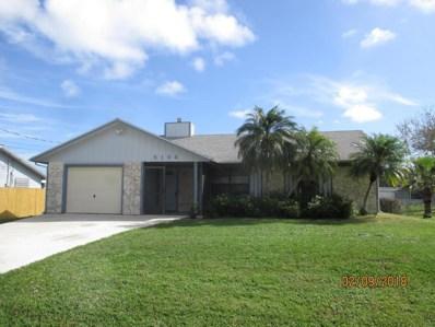 5104 Myrtle Drive, Fort Pierce, FL 34982 - MLS#: RX-10404474