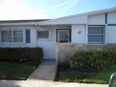 2689 Emory Drive W UNIT G, West Palm Beach, FL 33415 - MLS#: RX-10405417